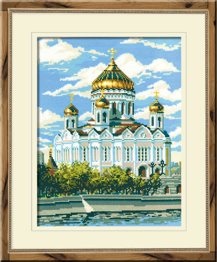 Схема вышивки храм христа 116