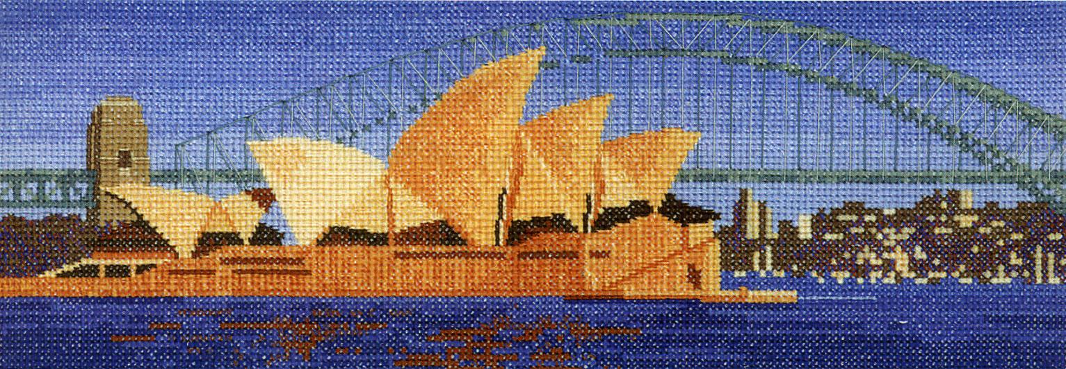 Схемы для вышивки крестом панорама